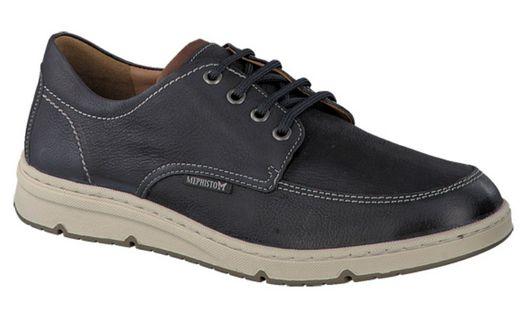 d172e7155d78ed Chaussure Méphisto Justin - Bleu marine | MEDICONFORT
